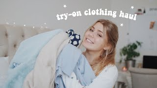 try-on clothing haul !! a very late black friday haul