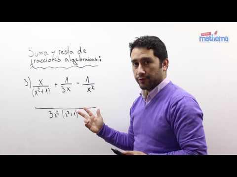 Fracciones algebraicas 6