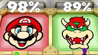 Super Mario Party Minigames - Mario Vs Luigi Vs Wario Vs Waluigi