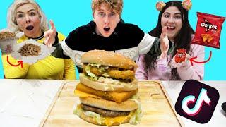 TESTING NEW TIKTOK FOOD HACKS!