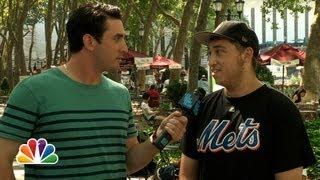 Matt Harvey Asks New Yorkers About Matt Harvey (Late Night with Jimmy Fallon)