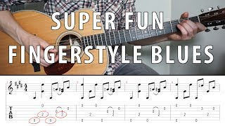 Super Fun Fingerstyle BLUES You Should Know