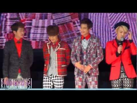 [HD fancam] 130406 2013 seoul girls collection SHINee 1 - Lucifer + Stranger + talk