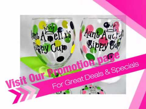 _________'s Sippy Cup Personalized Wine Glass - AdvantageBridal.com