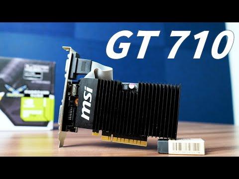 【Huan】 傳說中拔掉會讓電腦性能倍增的顯卡... GT 710