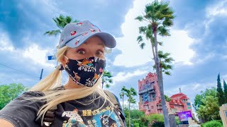 Disney's Hollywood Studios April 2021! Surprise Wind Storm, Empty Rides, Star Wars Launch Bay & More