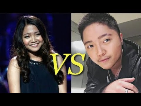 Charice VS Jake Zyrus IN SAME SONGS! Vocal comparison