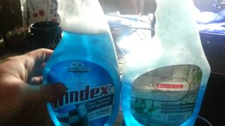Windex vs cheap window cleaner