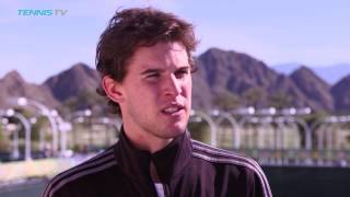 Interview: Thiem Returns To Indian Wells