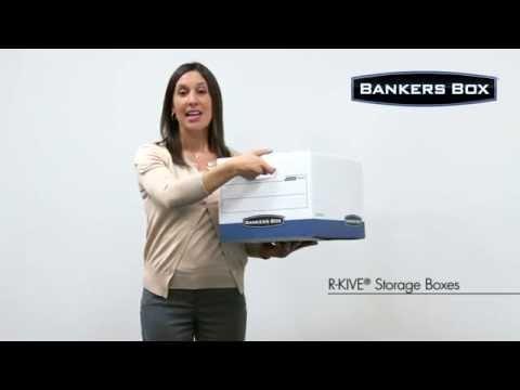 Bankers Box® R-Kive® Storage Boxes