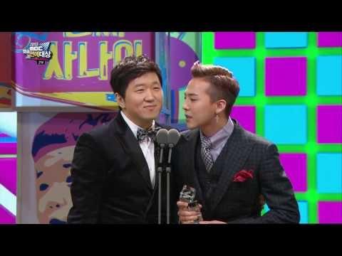 [HOT] MBC 방송연예대상 2부 - 베스트커플상 정형돈, 지드래곤 (형용돈죵) 20131229