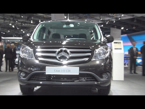 @MercedesBenz Citan 111 CDI 7-seats Combi Van (2017) Exterior and Interior in 3D