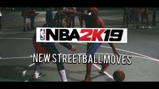 NBA 2k19 Top 16 Streetball Moves