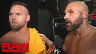 The Revival aren't happy about making history: Raw Exclusive, Aug. 12, 2019