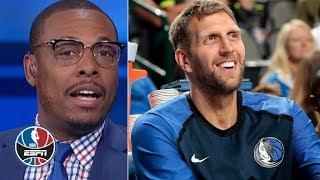Show some respect, don't bench Dirk Nowitzki – Paul Pierce | NBA Countdown