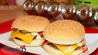 Reteta de Cheeseburger