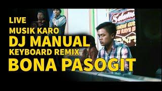 DJ MANUAL KEYBOARD BONA PASOGIT MUSIK KARO