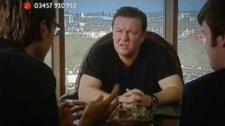 """Ricky Gervais in """"The Office Opera"""" - Red Nose Day 2009"""