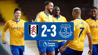 FULHAM 2-3 EVERTON   BLUES BACK TO WINNING WAYS AS DCL STRIKES TWICE   PREMIER LEAGUE HIGHLIGHTS