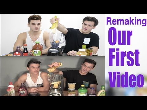 REMAKING OUR FIRST VIDEO!