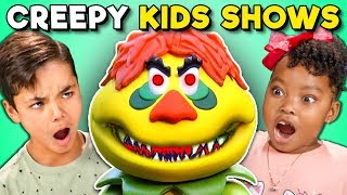 Kids React To Creepy 1970s Kids TV Shows (Sid & Marty Krofft)