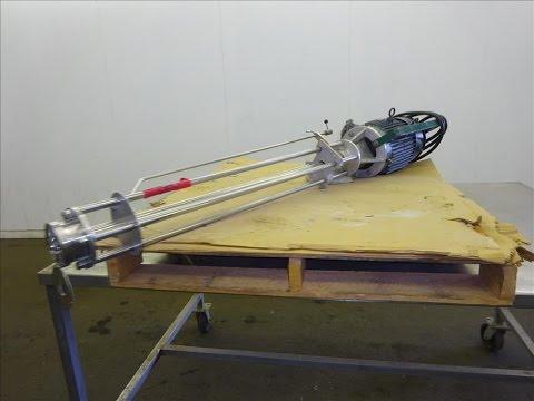 Used- Greerco High Shear Homogenizer/Emulsifier - stock # 48280008