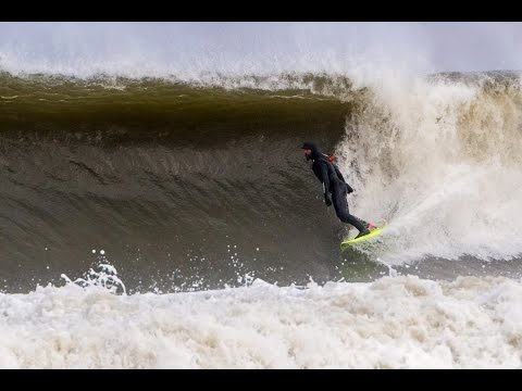 February Surf in New Jersey