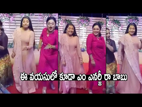 Actress Suhasini's latest dance video going viral on social media