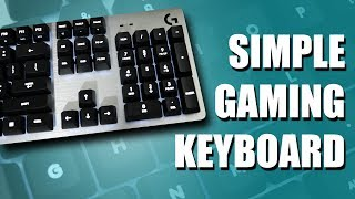 Simple Mechanical Keyboard for $90 | Logitech G413 Review