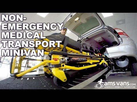 [NEW!] Accessible Van as NEMT | AMS Vans