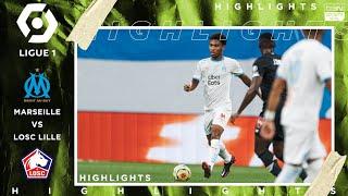 Marseille 1 - 1 Lille - HIGHLIGHTS & GOALS - 9/20/20