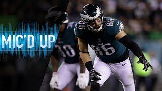 "Zach Ertz Mic'd Up vs. Redskins ""Put a stamp on this game!""   NFL Films"