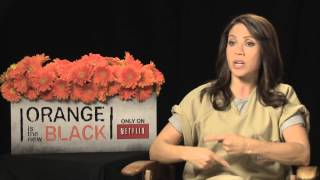 Elizabeth Rodriguez's Official 'Orange is the New Black Interview - Celebs.com