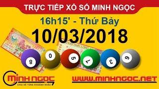 Trực tiếp xổ số MINH NGỌC T7 Ngày 10-03-2018 - Kênh Youtube chính thức từ Minhngoc.net.vn