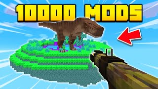 Minecraft, but I Downloaded TOO MANY MODS!