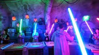 Build a Lightsaber at Savi's Workshop - Disney World - Full Show