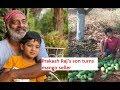 Tollywood actor Prakash Raj's son Vedanth turns mango seller