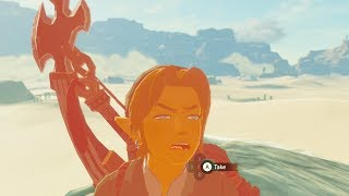 What Happens if you Find The One-Hit Obliterator in Gerudo Desert? Zelda Breath of the Wild