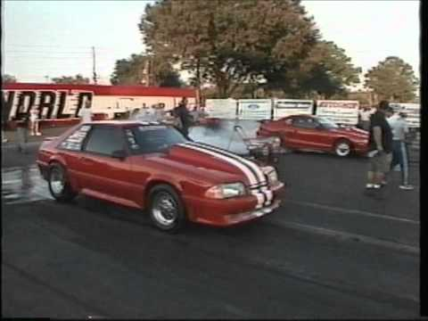 95 Mustang Wins BFG Class 2000 World Street Nats - UPR