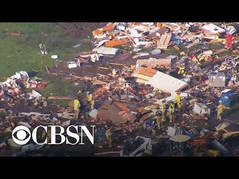 Suspected Oklahoma tornado blamed for at least two deaths