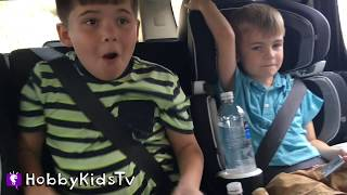 Drive-Thru Car Wash and Arcade with HobbyKids