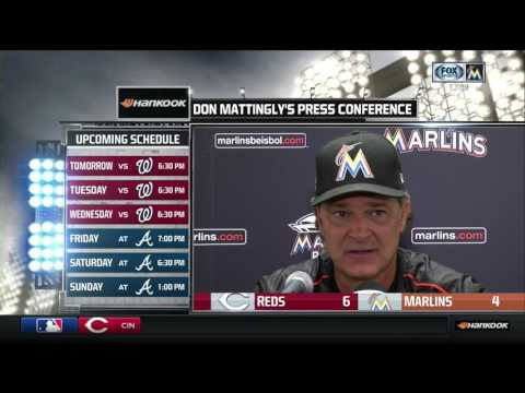Miami Marlins vs Cincinnati Reds