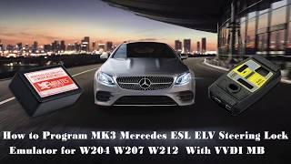 How to Program MK3 Mercedes ESL ELV Steering Lock Emulator