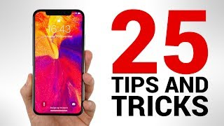 iPhone X - TOP 25 Tips & Tricks You NEED to KNOW!