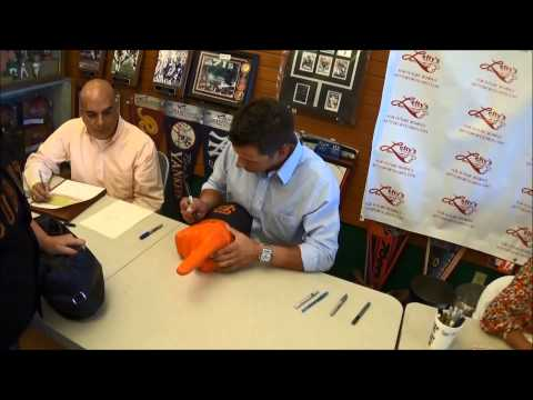 Joe Panik & Matt Duffy Autograph Signing (2014)