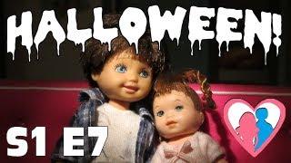 "The Happy Family Show - S1 E7 ""Halloween Pranks"" | The Barbie Happy Family Show"