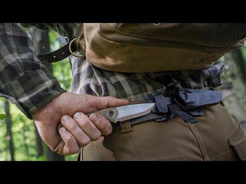 Gerber Principle Bushcraft Fixed Knife - Black