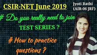 How to prepare for CSIR-NET 2019|Preparation strategy for csirnet 2019| NET June 2019 test series