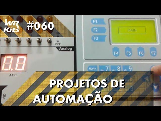 CONTROLE DE PORTÃO ELETRÔNICO COM CLP ALTUS DUO | Projetos de Automação #060