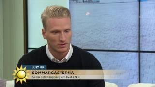 """Livet som hockeymiljonär: """"Man försöker leva ett vanligt liv"""" - Nyhetsmorgon (TV4)"""